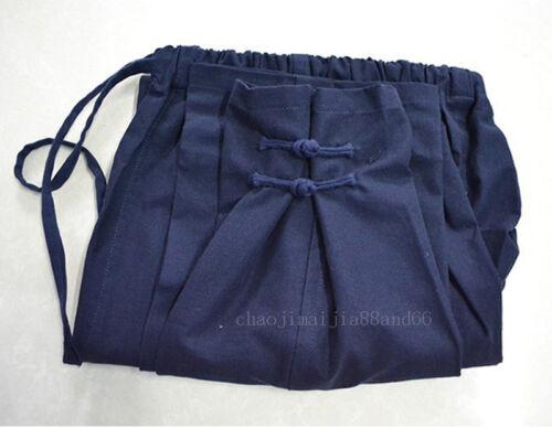 100/% Cotton Kung Fu Martial Arts Shaolin Bruce Lee Wing chun Casual Pants Men