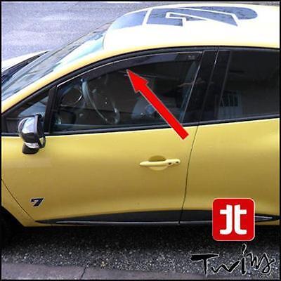 Deflettori Aria Antiturbo Oscurati Renault Clio 5 V dal 2019
