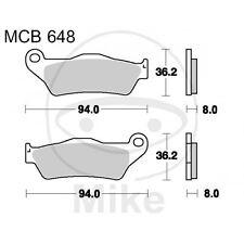 KTM EXC 530  BJ 2008-2011 - 61 PS, 45 kw - Bremsklötze Standard offroad TRW