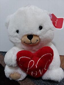034-Hallmark-034-Plush-Love-Teddy-Bear-Super-Soft-Plush-New