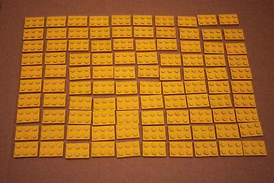 3 x Lego 3002 Baustein Basisstein 2x3 transparent klar gebraucht