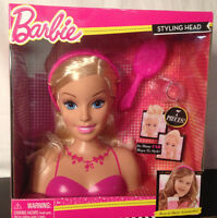 Barbie Just Play Blonde Hair Styling Headwear & Share Accessoriesnew