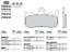 Ducati-Multistrada-1200-1260-Brembo-Plaquettes-De-Freins-Avant-agglomeration-metal-07bb38sa miniature 2