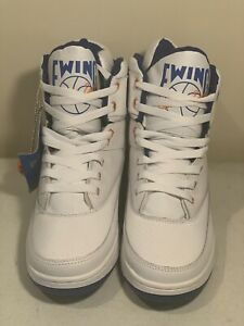 the best attitude 0508b 6bce0 Image is loading PATRICK-EWING-ATHLETICS-33-HI-White-Royal-Orange-