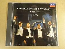 CD / CARRERAS DOMINGO PAVAROTTI IN CONCERT