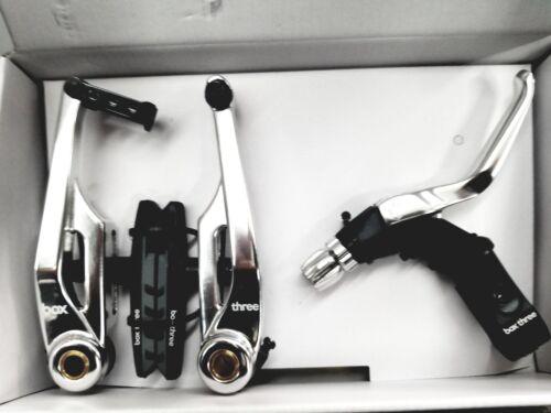 BOX THREE BMX//Mountain Bike V Brake 108mm w//LEVER LONG Silver