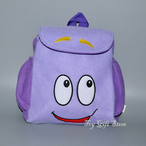 Dora-the-Explorer-Plush-Backpack-Child-PRE-School-Bag-Toddler-Size-New