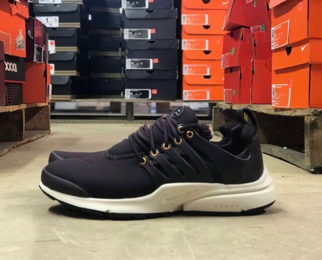 the latest 836ea 01e8a Nike Air Presto Premium PRM Mens Running Shoe Burgundy/White 848141-600 Sz  6 & 7