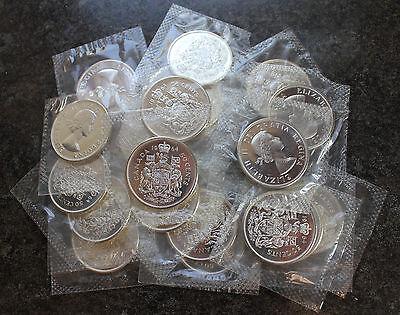 20 1967 Canada Proof Like PL Silver Half Dollars BU $10 Face Roll Canadian