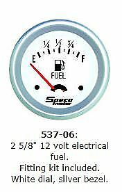 SPECO-PRO-2-5-8-12-VOLT-ELECTRICAL-FUEL-GAUGE-AND-SENDER-P-N-537-06