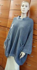 KNITTED-OVERSIZED-SWEATER-With-Pockets-Cray-Pullover-Outdoor-Made-in-Europe