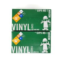 Vinyl Latex Free Powder Free Gloves Med Lot2safety Zone 100box Newother