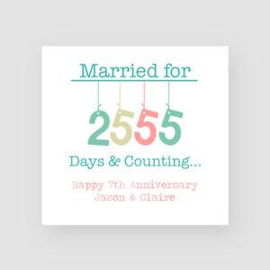 Copper Anniversary ***NEW 2020*** 7th Wedding Anniversary Card