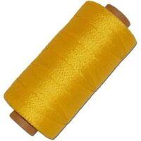 Yellow Braided Polypropylene Pull String Line 500 Foot Construction 18ga Nsm1003