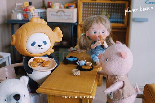 PlanetBear PanPan Cute Panda Fashion Figure Toys Children Gifts In Stock Hot PVC