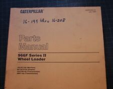 Cat Caterpillar 966f Wheel Loader Parts Manual Book Catalog Spare Front End List