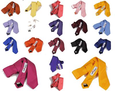Acquista A Buon Mercato Cravatta Tinta Unita Made In Italy Cravattini Vari Colori Seta 7 Uomo Cerimonia
