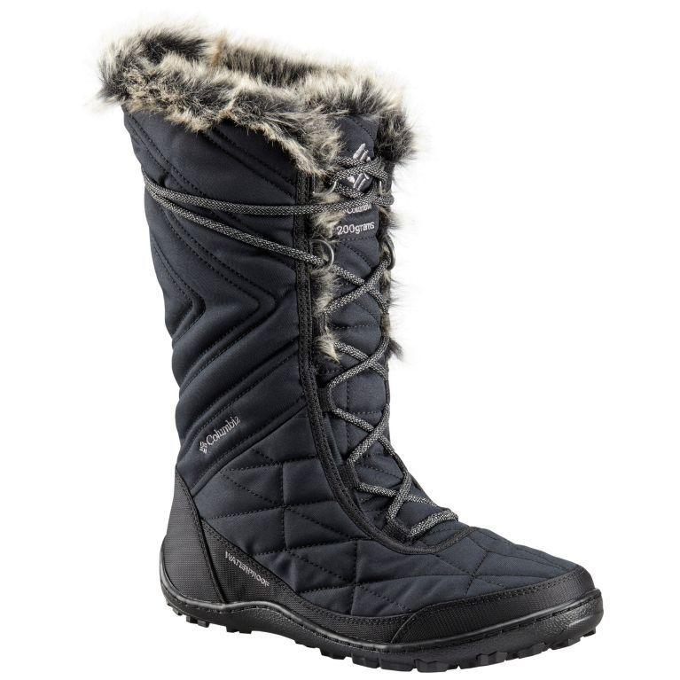 New Women's Columbia Minx Mid III III III Boots 1803121-010 Black   Ti Grey Size 6 d549f3