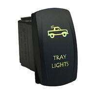 Rocker Switch 625g 12v Tray Lights Laser Led Green On-off Waterproof