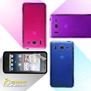 Matte-Gel-Case-For-Huawei-Ascend-G510-Screen-Guard-TPU-Jelly-Soft-Cover