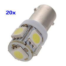 20 x T11 BA9S T4W H6W 363 Weiss 5 LED 5050 SMD Auto Keil Lampe Birne 12V DE