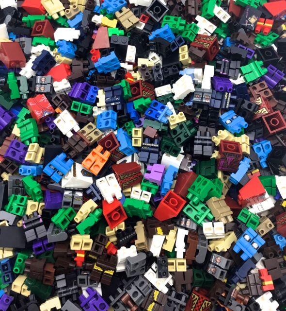 Star Wars City Pants Lego X10 New Bulk Lot Plain Black Mini Figures Legs Hip