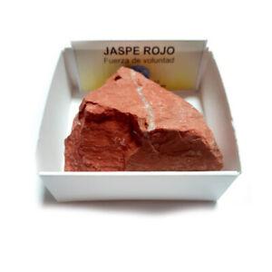 Jaspe-Rojo-Piedra-En-Bruto-Natural-En-Cajita-de-coleccion-6x6-cm