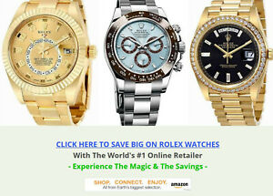 ROLEX WATCH WEBSITE BUSINESS FOR SALE. FULLY STOCKED. NICE CASH COMMISSIONS!