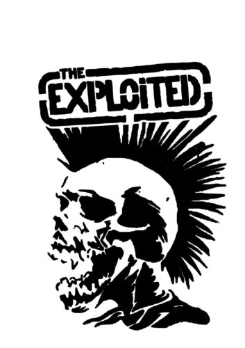 Free UK Postage High Detail The Exploited Airbrush Stencil