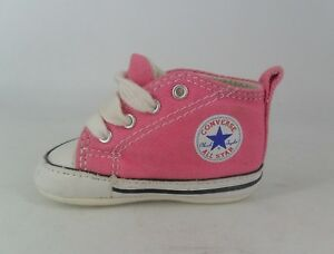 caa3a509fe1a Converse First Star Crib Infant- Pink UK 1 EU 17 JS088 CC 10
