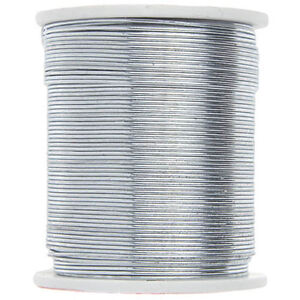 Silver Colored Beading Wire 24 Yards 24 Gauge