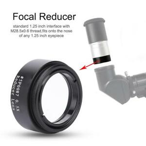 Datyson-1-25-034-0-5X-Focal-Reducer-M28-Thread-Lens-Accessory-for-Telescope-Eyepiece