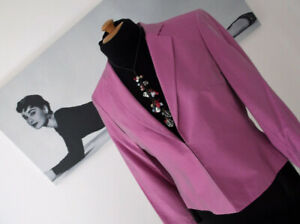 BNWT-Beautiful-DEBUT-DEBENHAMS-Dusky-Pink-Silk-Occasion-Jacket-UK14-TO-CLEAR