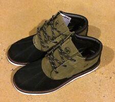 DVS Hawthorne Boots Size 11.5 Olive Nubuck BMX DC MOTO Snow Series $100