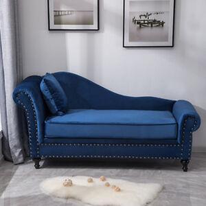 Chaise Lounge Queen Anne Sofa Armchair
