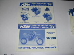 2 Parts List Catalogue Revue Technique Ktm 50 Sxr 1998 Uqtc5bvm-08010917-625321274
