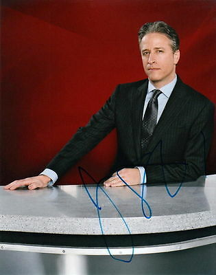JON STEWART.. Late Night Talk Show Host (The Daily Show) SIGNED