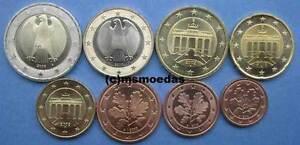 Deutschland BRD Euro-Kursmünzensatz KMS mit 1 Cent - 2 Euro Jahr 2002 Wahl ADFGJ