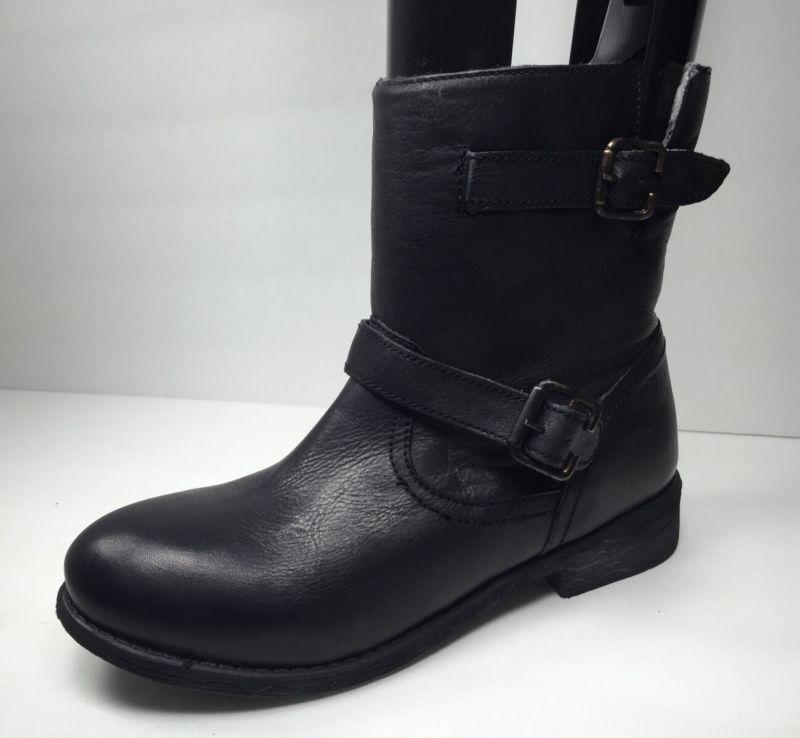 Zigi Soho Womens Black Leather Imrie Ankle Boots Shoe Size 7 M NEW!