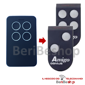 TELECOMANDO-COMPATIBILE-CON-GENIUS-AMIGO-JA332-868-MHZ-ROLLING-GARAGE-CANCELLO