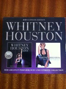 WHITNEY-HOUSTON-LIVE-amp-THE-ULTIMATE-COLLECTION-2CD-ULTIMATE-ED-NEW-amp-SEALED