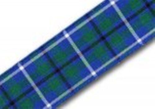 Tartan Ribbon 2 metres 17 Clans /& 4 widths Berisford /& Others