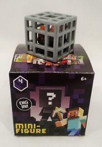 """Minecraft Mini-Figures Obsidian Series 4 1/"""" Spawning Spider Figure Mojang"""