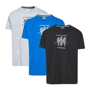 Trespass-Chained-Men-Summer-Casual-Top-Cotton-Blend-Cycling-Shirt