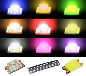 S921-Sortiment-90-Stk-SMD-LEDs-1206-rot-gelb-gruen-weiss-blau-orange-pink-ww-lila