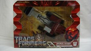 Transformers Rotf La Revanche Du Decepticon Decepticon Demolishor Voyager Near Near Mint!   653569409021