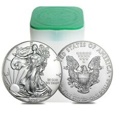 Roll of 20 - 2020 1 oz Silver American Eagle $1 Coin BU (Lot, Tube of 20)