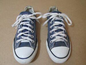 Brillant Converse-chuck Taylor All Star-bleu Marine Lo-top-taille 4.5-afficher Le Titre D'origine Pour AméLiorer La Circulation Sanguine