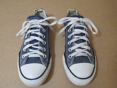 Converse - Chuck Taylor All Star - Navy Lo-top - Size 4.5 Eine VollstäNdige Palette Von Spezifikationen