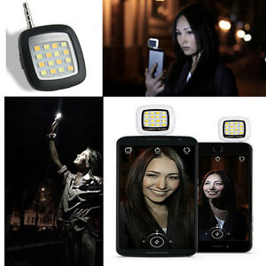 LED-Flash-Mini-16-Fill-Light-Portable-Smartphone-Phone-Selfie-For-IOS-Android-WP